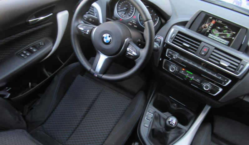 BMW 118D PACK-M, FULL LED, TECHO, ESPECTACULAR!!! completo