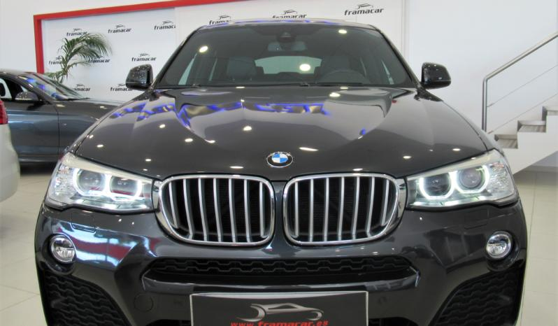 BMW X4 3.0DA 258CV PACK-M, TECHO, NAV, IMPECABLE!!!