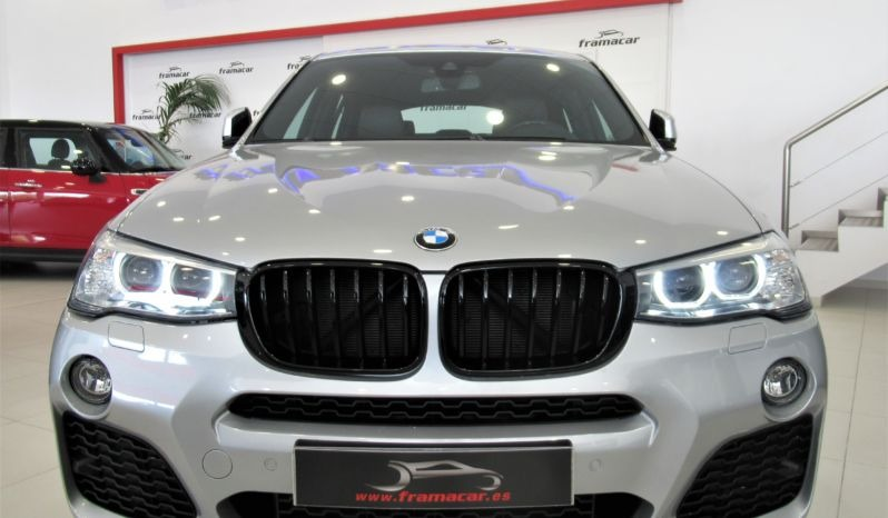 BMW X4 2.0DA 190CV PACK-M SHADOW LINE, NAV, HEAD UP DISPLAY, ESPECTACULAR UNIDAD!!!!