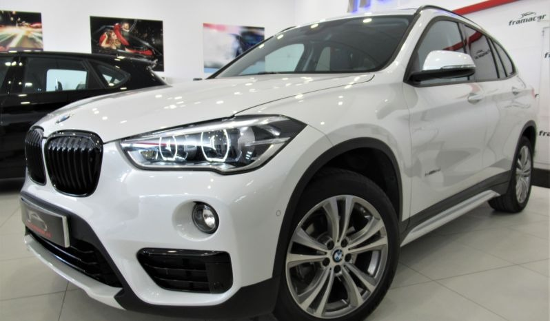 BMW X1 1.8DA 150CV sDRIVE, TECHO, SPORT LINE, LEVAS, IMPECABLE ESTADO!!!