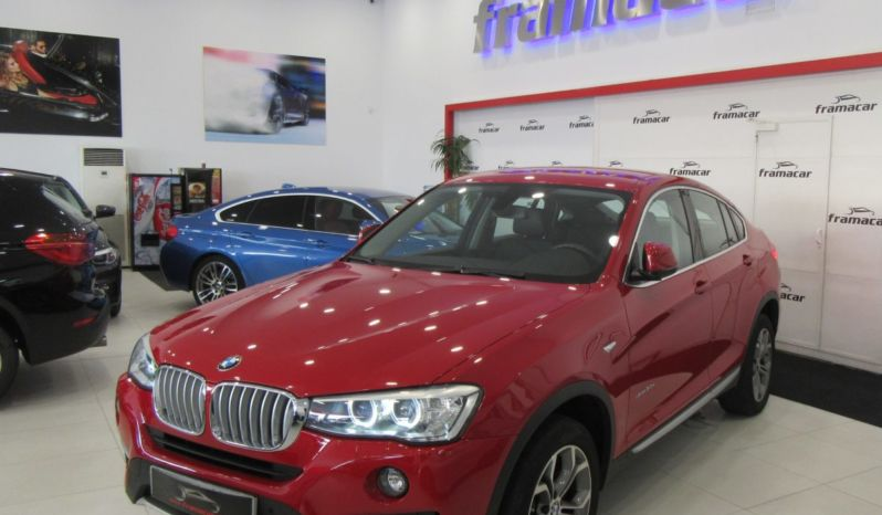 BMW X4 2.0DA 190CV xDRIVE, ACABADO X-LINE! IMPECABLE ESTADO!