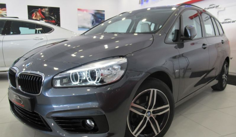 BMW 218D GRAN TOURER!! 7 PLAZAS!! 150CV SPORT SHADOW LINE!! CUERO, NAV, FULL LED!! IMPECABLE UNIDAD!!