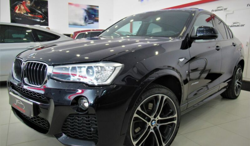 Bmw X4 20dA xDRIVE 190cv Pack-M shadow line!! Techo, cuero, nav pro, levas!! Impecable estado!!