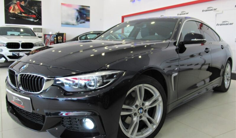 Bmw 420dA 190cv Gran coupe Pack M silver line!! Full led, nav pro, cuero!! Impecable estado!!