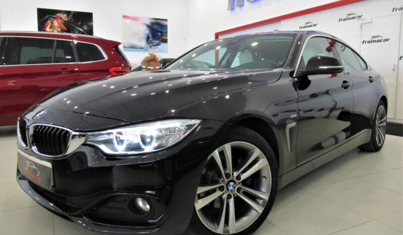 Bmw 420dA Gran coupe Sport shadow line 190cv!! Xenón, nav, cuero, levas!! Impecable estado!!