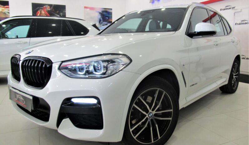 Bmw X3 20dA xDRIVE 190cv Pack m shadow line!! Full led, nav, pdc!! Espectacular unidad!!