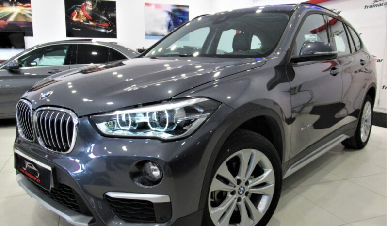 Bmw X1 18dA X-line sDrive 150cv!! Full led, nav, cuero, levas, techo panorámico!! Impecable estado!!