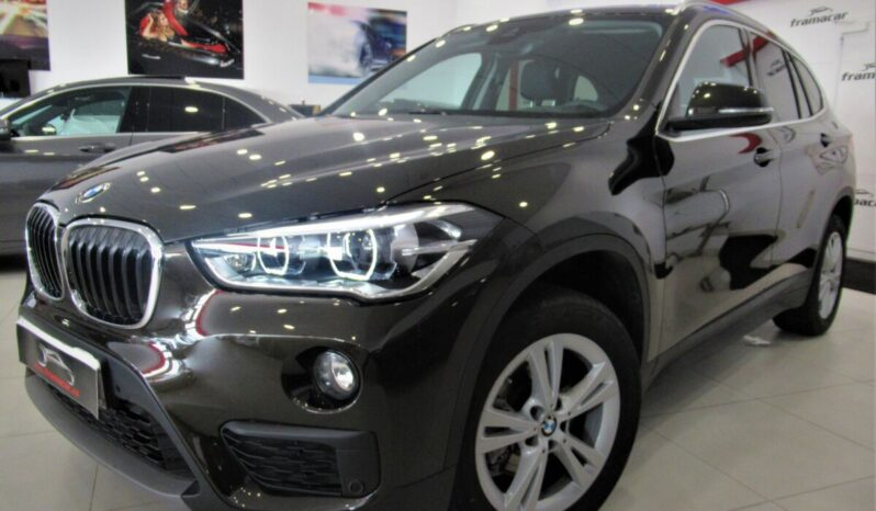 Bmw X1 18dA sDrive 150cv!! Full led, nav, cámara marcha atrás, pdc!! Impecable estado!!