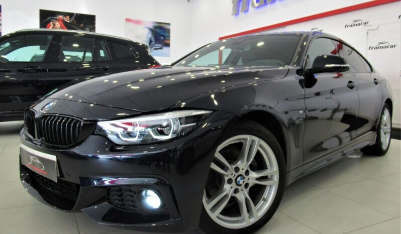 Bmw 420dA Gran coupe Pack M 190cv!! Faros full led, navegación, levas!! Espectacular unidad!!