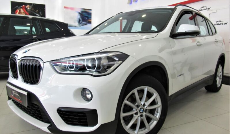 Bmw X1 18d Sdrive 150cv!! Faros full led, navegación, asistente de frenado!! Impecable estado!!