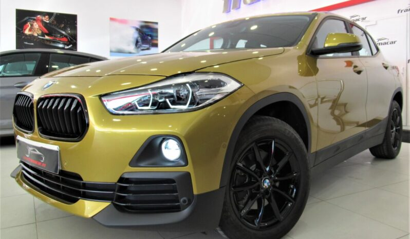 Bmw X2 18dA Shadow line 150cv!! Faros full led, display led, navegación, asistente de colisión!! SOLO 1.700 KM!! Reestrenalo!!
