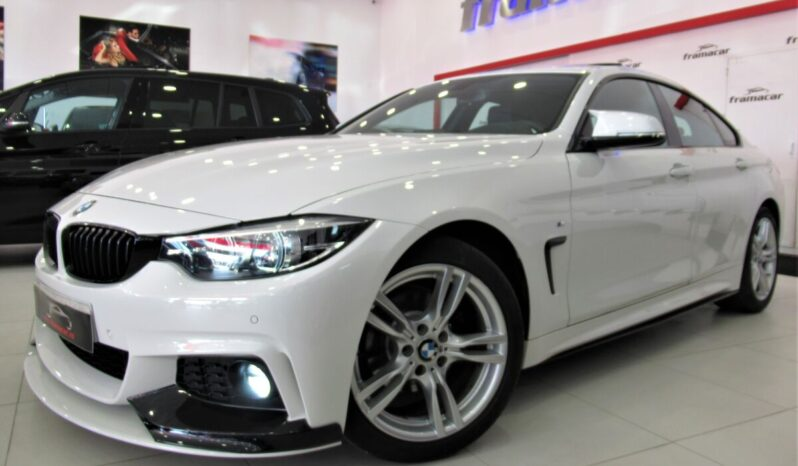 Bmw 420dA Pack M performance shadow line 190cv Gran coupe Faros full led, navegación profesional, techo, levas, head up display