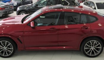 Bmw X4 20dA Pack M shadow line 190cv, techo panoramico retractil, levas, faros full led, Espectacular unidad lleno