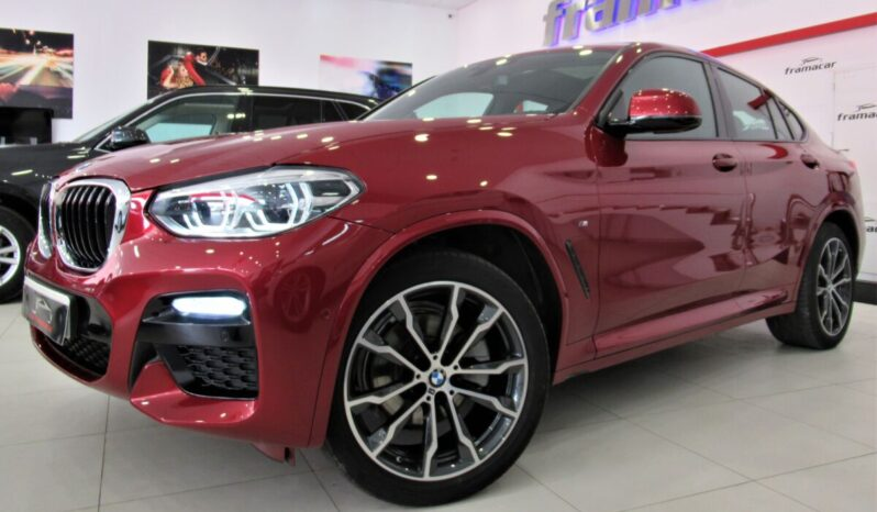 Bmw X4 20dA Pack M shadow line 190cv, techo panoramico retractil, levas, faros full led, Espectacular unidad