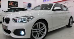 "Bmw 118d Pack M 150cv, Faros full led, navegación, llanta 18"", Impecable estado"