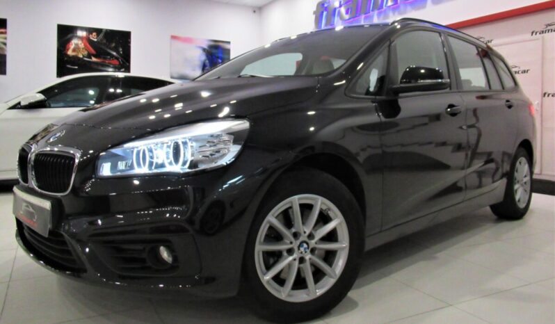 Bmw 218dA Gran tourer 150cv Faros full led, cuero, tercera fila de asientos, Impecable estado