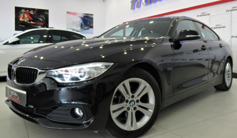 "Bmw 420iA Gran coupe 184cv, Faros de xenon, cuero, bluetooth, llantas 17"", Impecable estado"