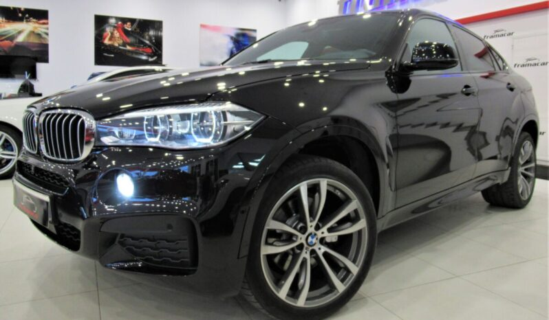 Bmw X6 40dA Pack M shadow line 313cv Faros full led, navegación profesional, head up display Exclusiva unidad